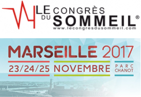 Logo congrès du sommeil 2017