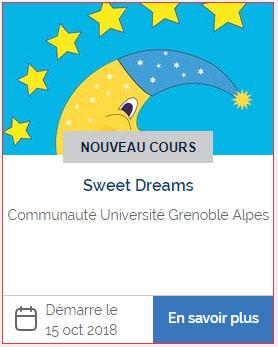 MOOC Sweet Dreams